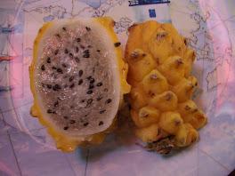 Fruit delicieux dont le nom nous echappe....