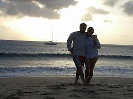 Sur la plage de Lanzarote