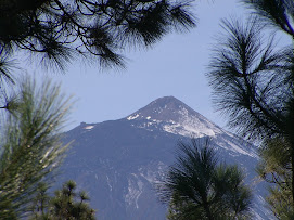 Le Teide 3718 metres!