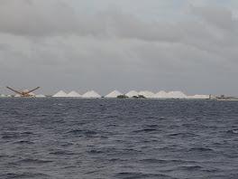 Grosses montagnes de sel!