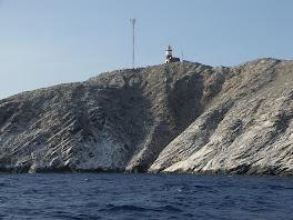 Montjes del Sur, avec son phare