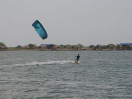 Martyn en kite
