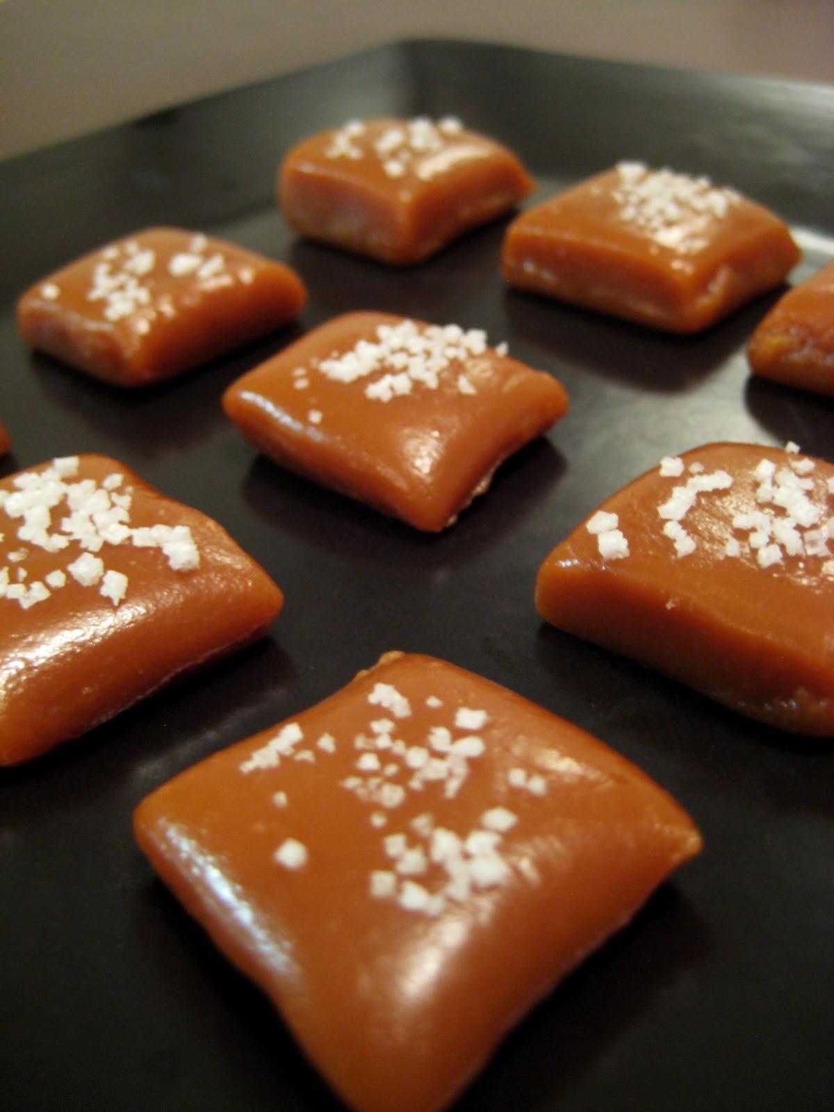 Fleur De Sel Caramels Recipe — Dishmaps