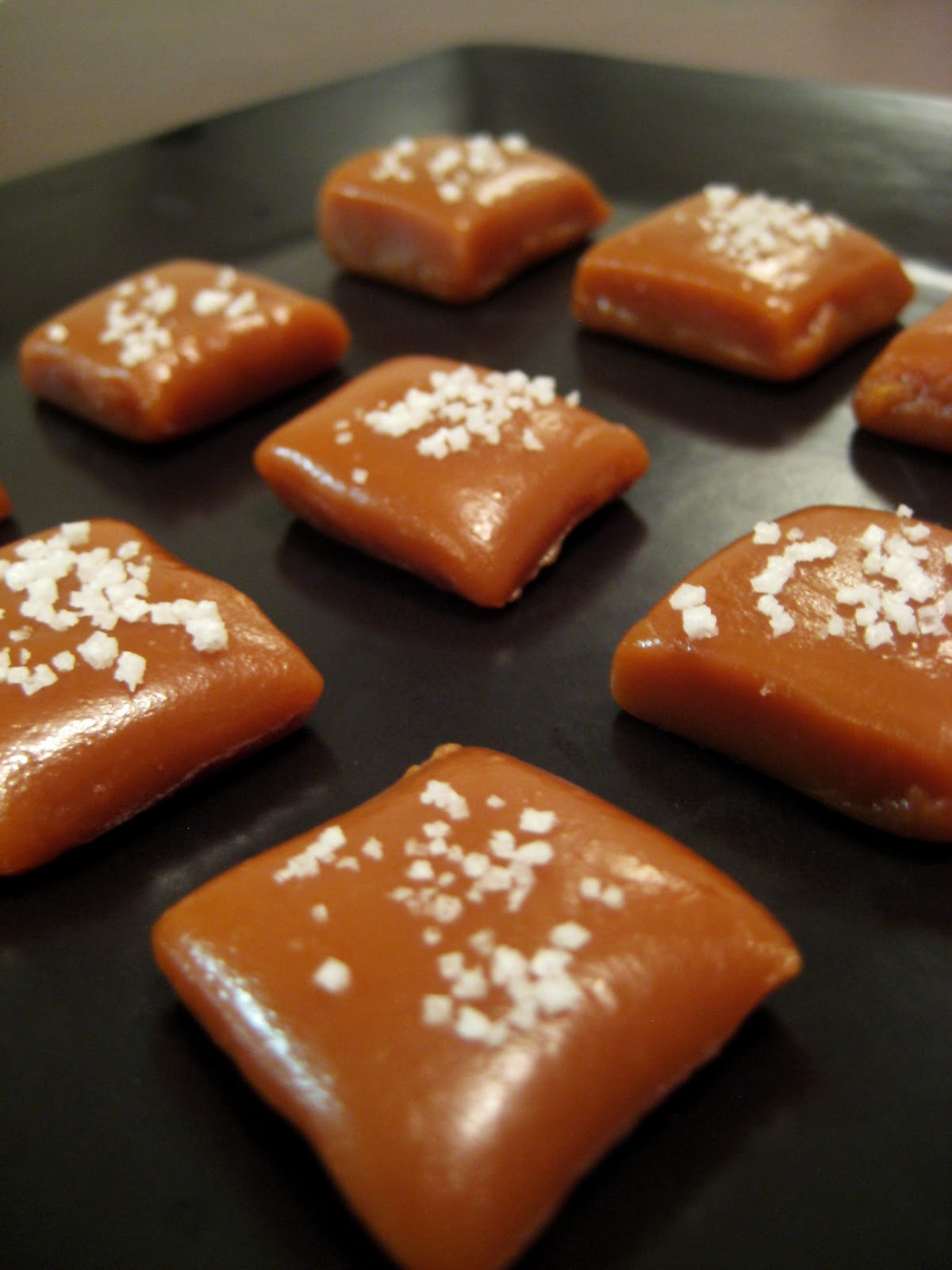The Cupcake Avenger: Fleur de Sel Caramels