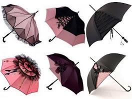 Sombrinha e guarda-chuva ____ Um acessório charmoso