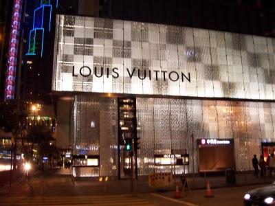 Loja Louis Vuitton em Hong Kong