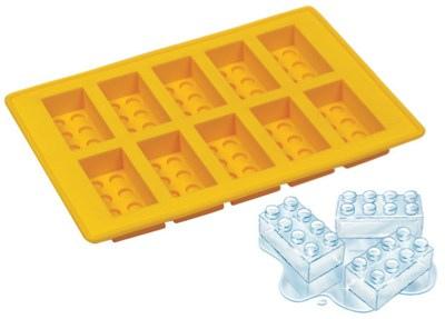 """Forminha de gelo """"Lego"""""""