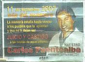 Carlos Fuentealba...!PRESENTE¡
