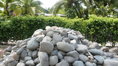 river stones