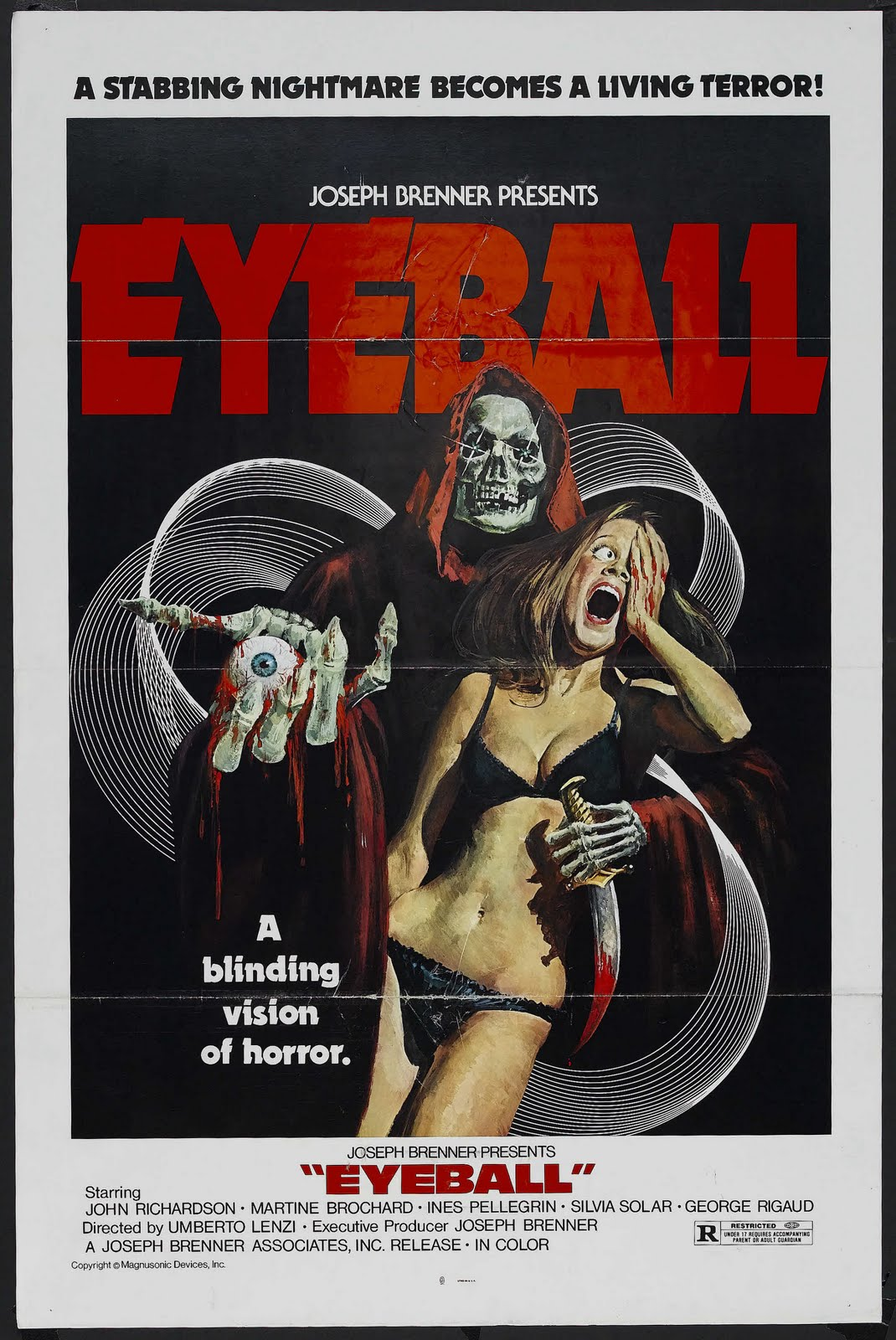 Poster design visio - Movie Poster Of The Week Eyeball
