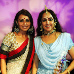 Rani Mukherjee watches Hema Malini's performance
