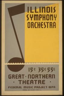 Illinois Symphony poster