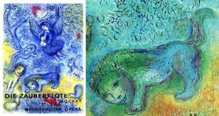 Chagall Zauberflöte detail