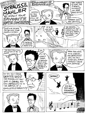 Comic: Strauss and Mahler Re-Enact Your Favorite Movie Moments