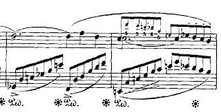 Schumann: Carnaval, Chopin, mm. 9-10