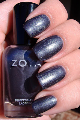 zoya freja nail polish swatch