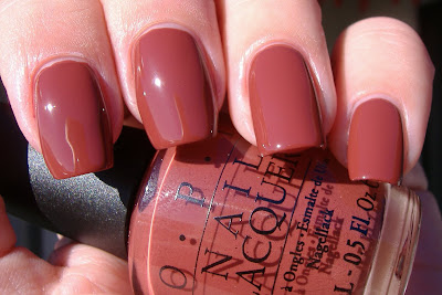 opi crepes suziette swatch