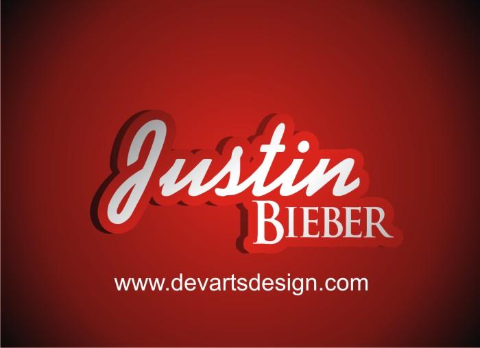 justin bieber logo name