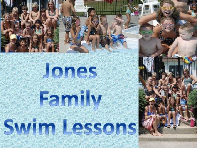 Jones Family Swim Lessons