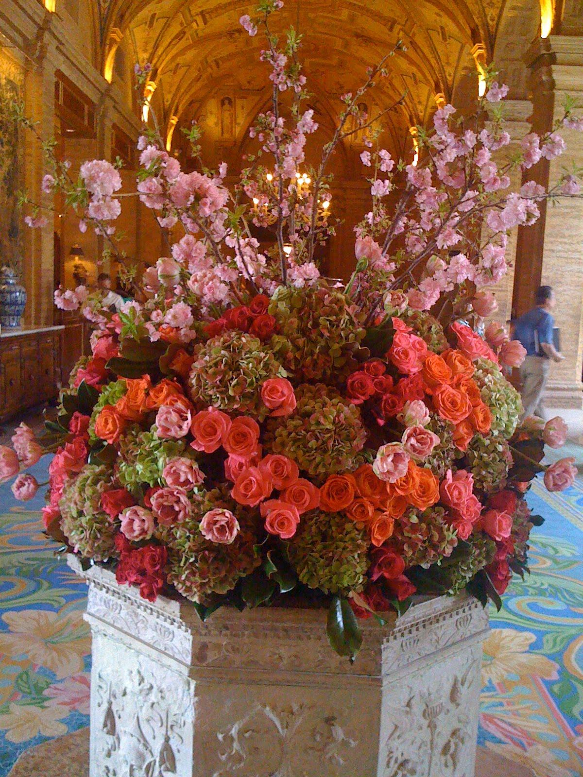 pink roses (along