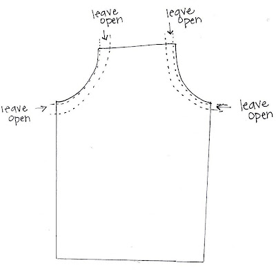 Free Apron Pattern - Homemade Holiday Gifts