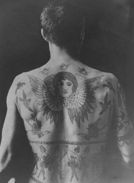 vintage tattoo and