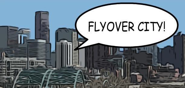 Flyover City!: A Post-Modern SUPERHERO NOVEL