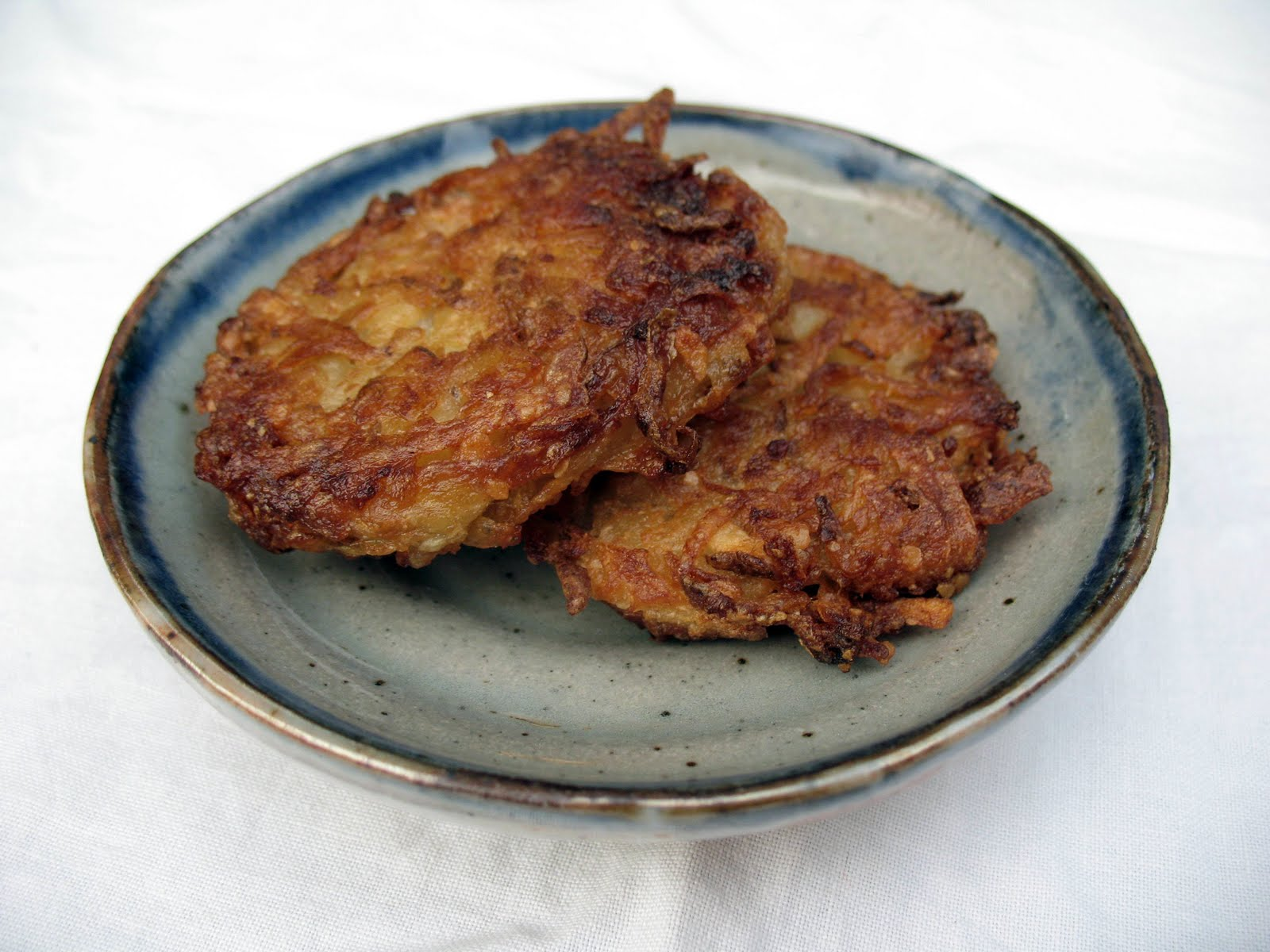 Classic Latkes Recipe | mostly foodstuffs