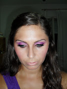 This makeup was actually leaning towards purples eventhough there was some .