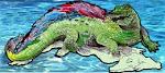 El Caimán Emplumado