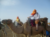 Jess and I on our camels