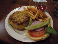 37th and Zen dish Mother Earth Burger