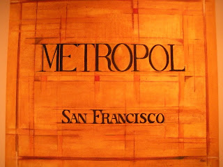 Sign Cafe Metropol San Franciso Restaurant