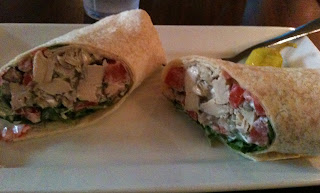 Havana dish Jerk Chicken Wrap