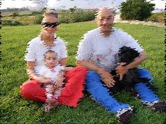 Con la mia famiglia al parco