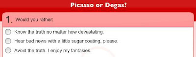Pablo Picasso, Edgar Degas, artist quiz