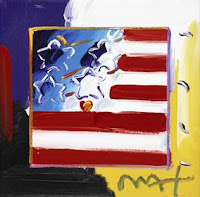 Peter Max, cruise art auctions, Park West Gallery fine art collection