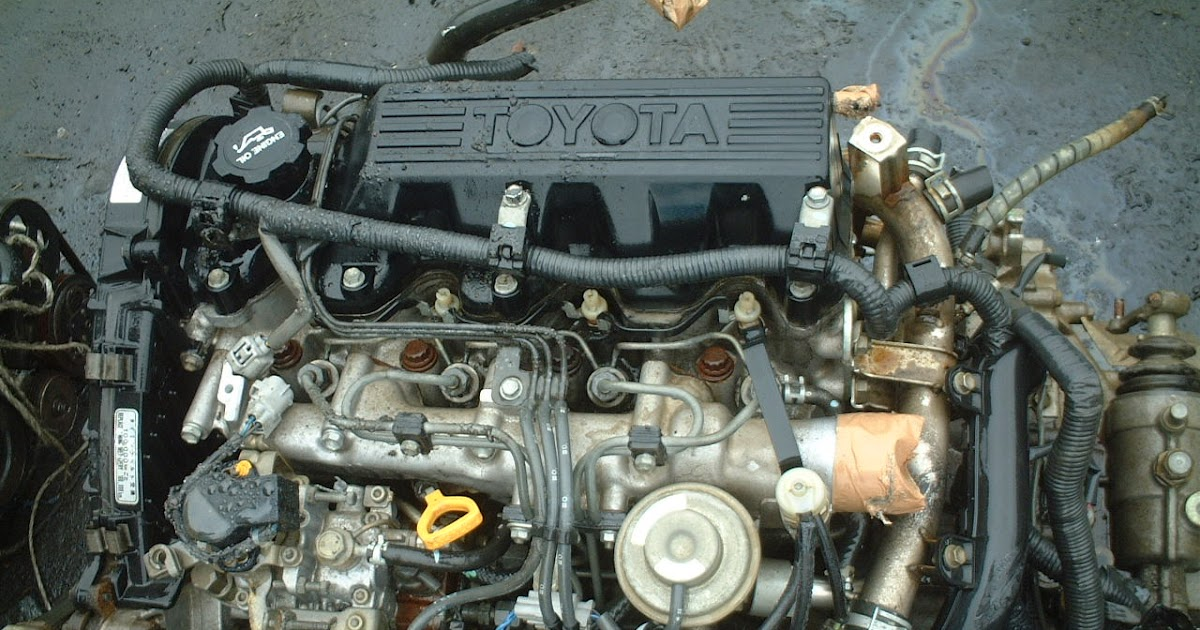 Japanese Used Engine And Spare Part Toyota 2c Used Engine