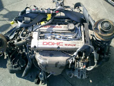 Japanese Used Engine And Spare Part 4g91 Used Engine From