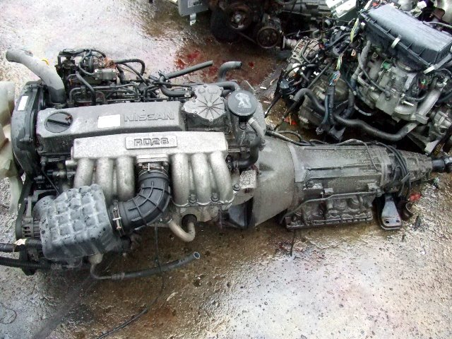 Japanese Used Engine And Spare Part Rd28 Used Engine Nissan