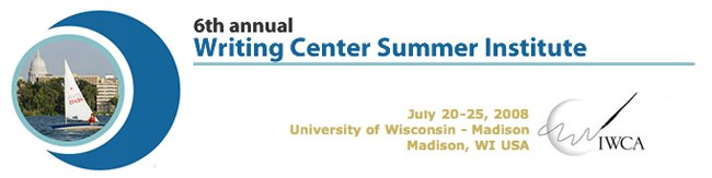 Writing Center Summer Institute 2008