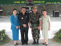 Bupati Landak Bersama Pangdam VI Tanjungpura