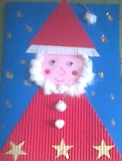 Lavoretti Biglietti Di Natale.Recite E Lavoretti Per Bambini Della Scuola Dell Infanzia Biglietto