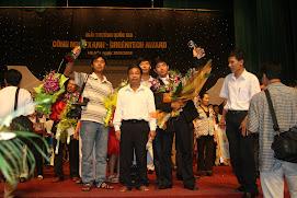 biogas giải thưởng vàng