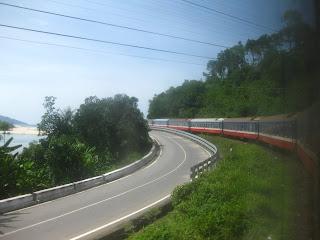 Train rearward