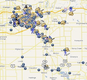 SpotCrime The Publics Crime Map SpotCrimes in Elkhart County
