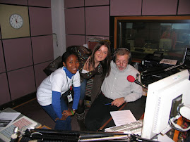 Jenny, Laura and John Pilgrim (Host) on BBC Radio U.K