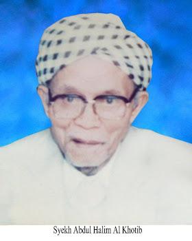 Syeikh Abdul Halim bin Ahmad Khatib al-Mandili