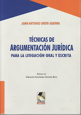 Técnicas de Argumentación Jurídica por Juan Ureta Guerra
