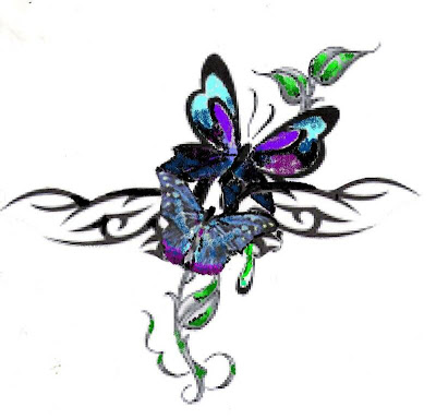 The diversity and the symbolism in the butterfly tattoo abounds.
